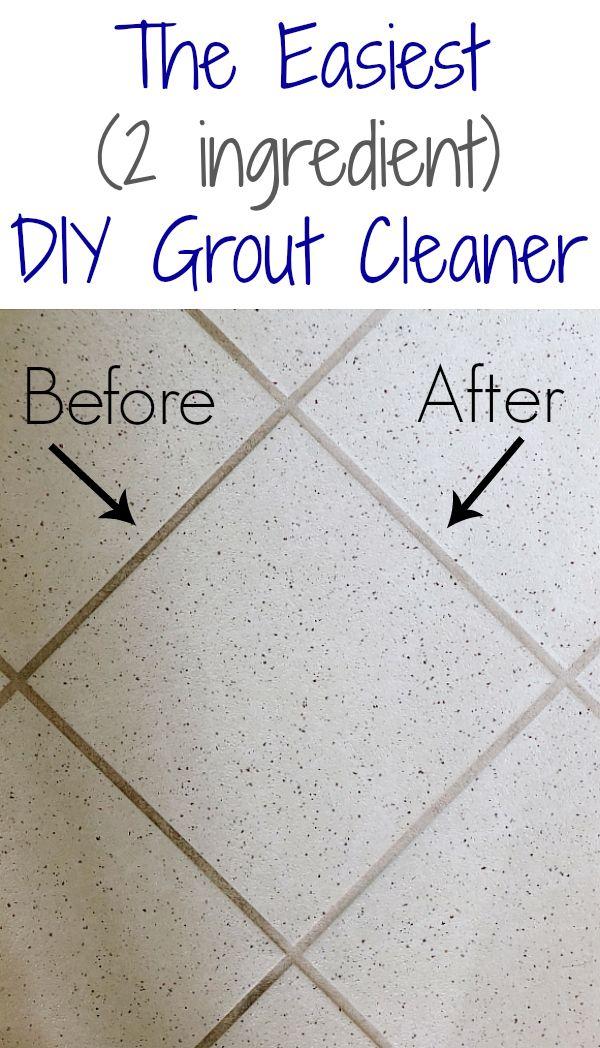DIY Grout Cleaner - Lemons, Lavender, & Laundry