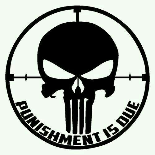 Punisher Sticker Buy 1 Get 1 Free Every Quantity Punisher Decal Oracal Colors