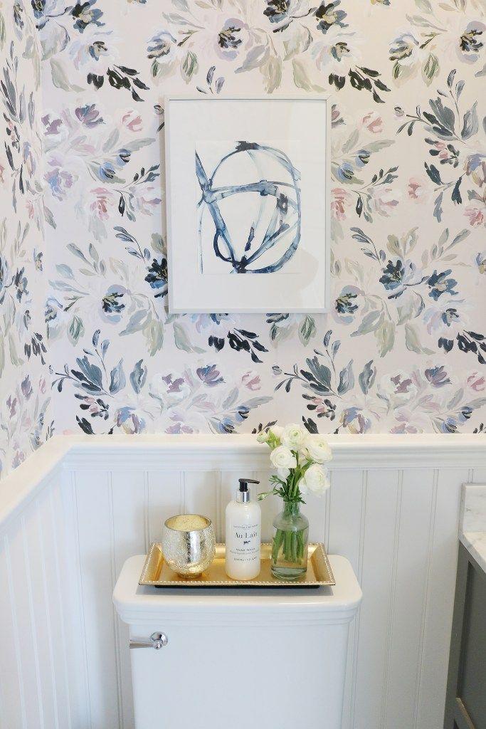 Photo of Powder Bathroom Makeover – Darling Darleen | A Lifestyle Design Blog