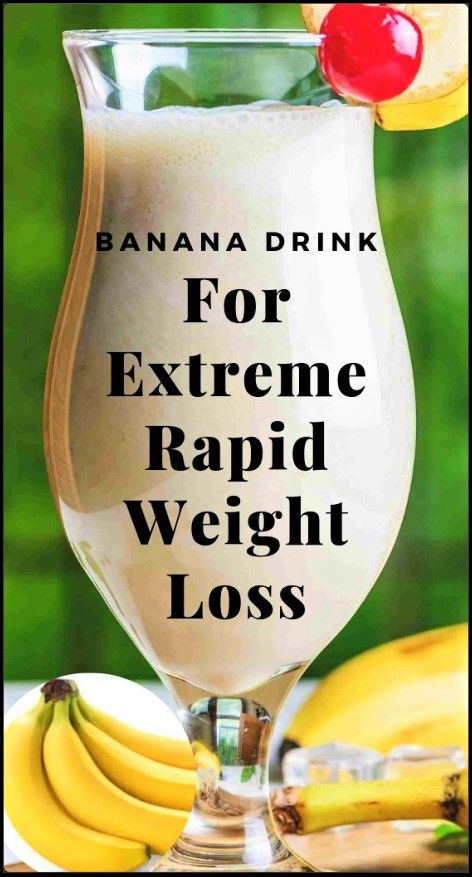 If you want to lose weight fast now that summer has quickly arrived it can be easy to get caught up with a fad diet This powerful banana drink will