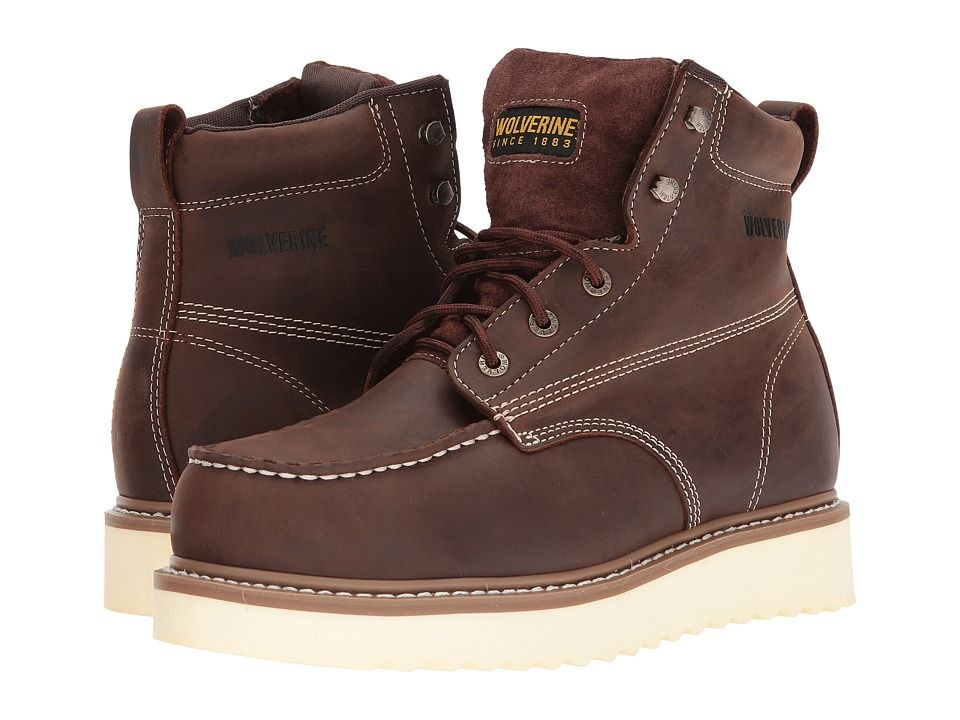 e40adb808e8 Wolverine Loader 6 Steel Toe Boot Men's Work Boots Brown | Products ...