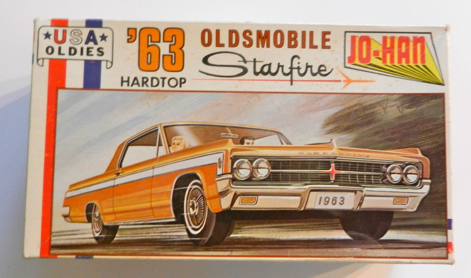 Jo-han \'63 oldsmobile starfire hardtop usa oldies 1:25th scale ...