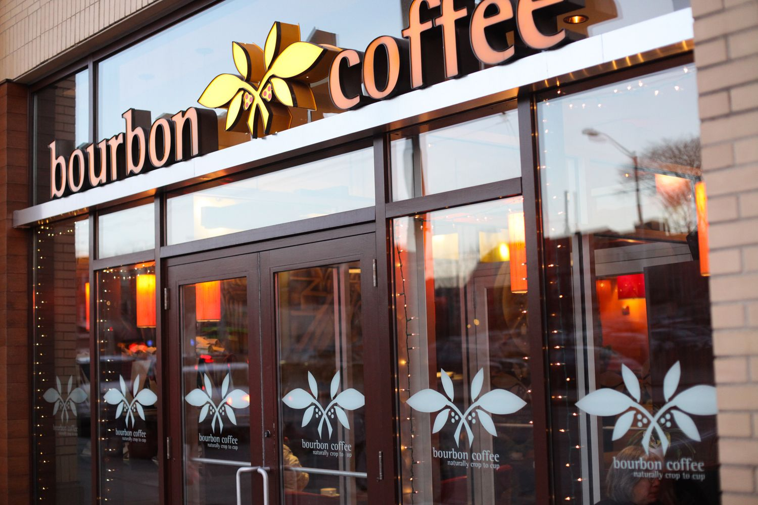 Our Cafes Bourbon, Coffee, Broadway shows