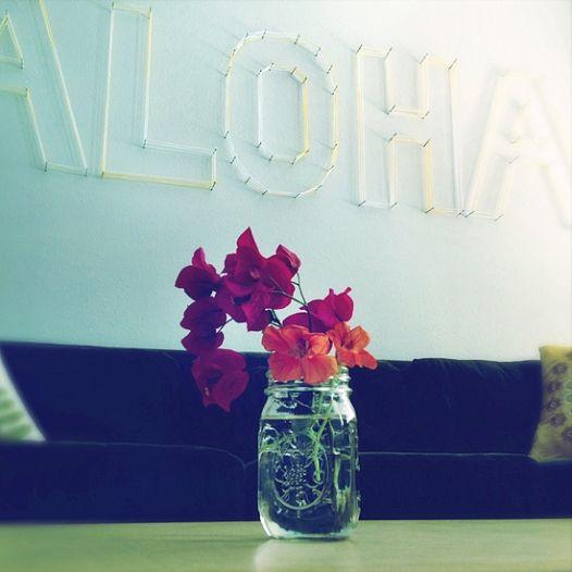 Yarn Art: Say Aloha