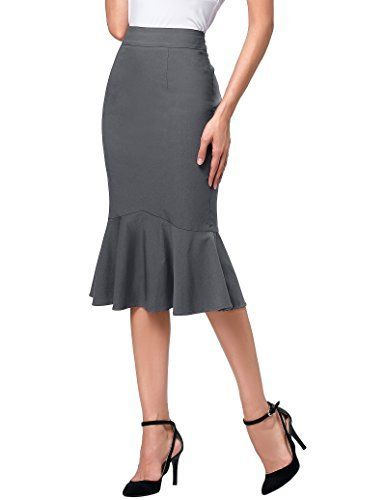 ac8094b5a0b Dress Features About the solid color dress   60%Cotton + 35%Nylon +  5%Spandex Mermaid hemline