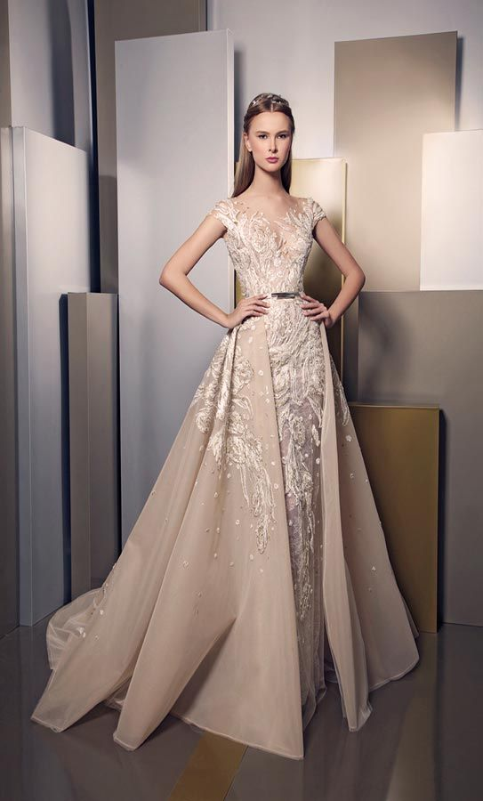 Elegance and brilliance through new ziad nakad summer 2016 for Ziad nakad wedding dresses prices