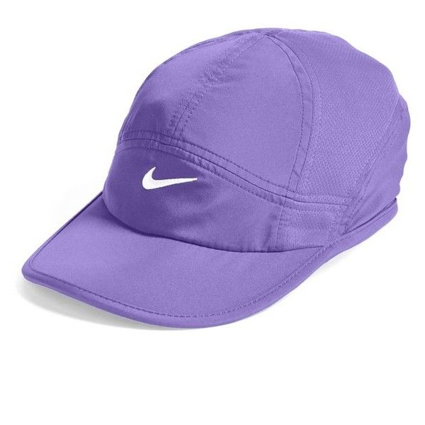 a3bd217a9f1 Nike  Featherlight 2.0  Dri-FIT Cap ( 23) ❤ liked on Polyvore featuring  accessories