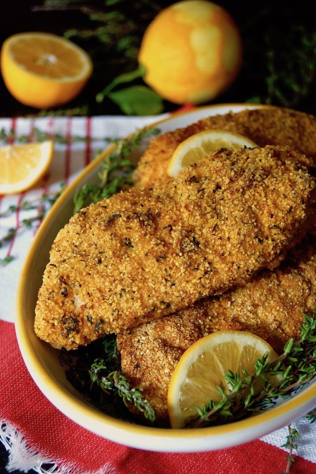 Air Fryer GlutenFree Lemon Fried Chicken Recipe