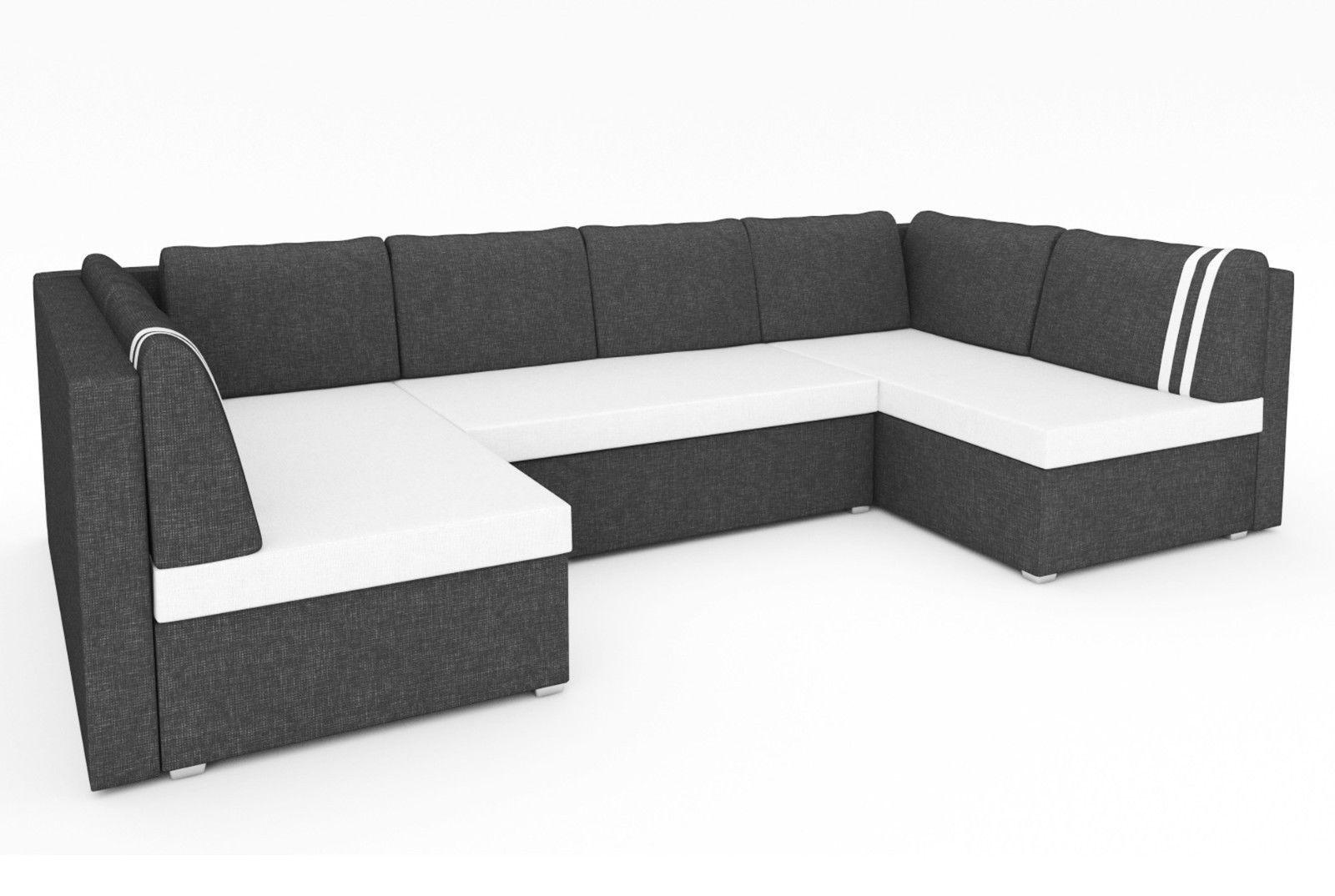 Sofa Couch Ecksofa Eckcouch Schlaffunktion Bettkasten Sofagarnitur Schlafcouch Ecksofas Wohn Mobel Couch