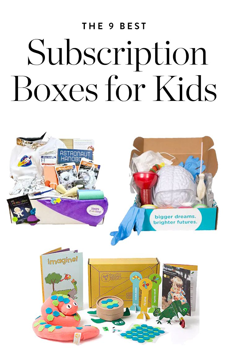 The 21 Best Subscription Boxes For Kids Subscription Boxes For