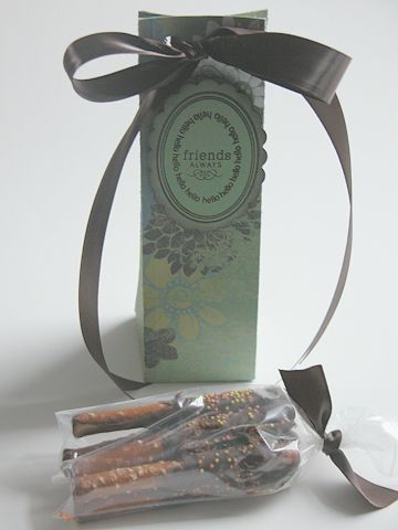 Tall and Slender Treat Box.