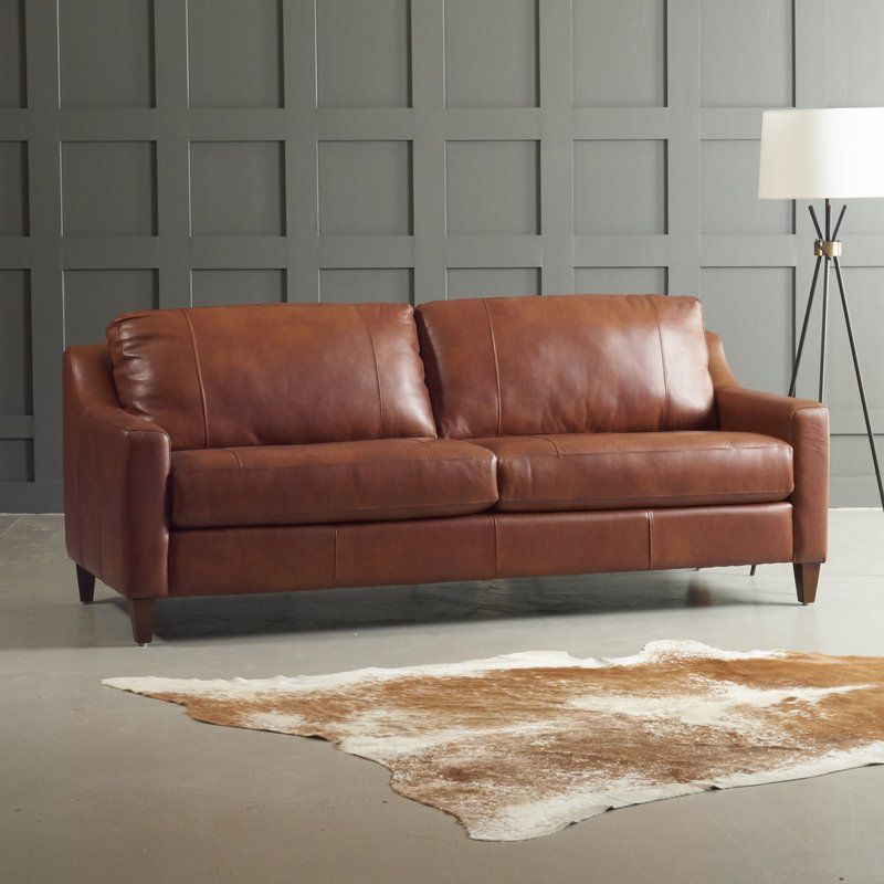 Pin By Sherif El Nashar On Orange Leather Living Room In 2020 Cool Couches Leather Couch Brown Living Room Decor
