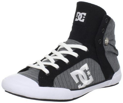 DC Women's Chelsea Zero Hi SE Skate Shoe,Black/White/Black,5 M US DC. $27.50. Save 50%!