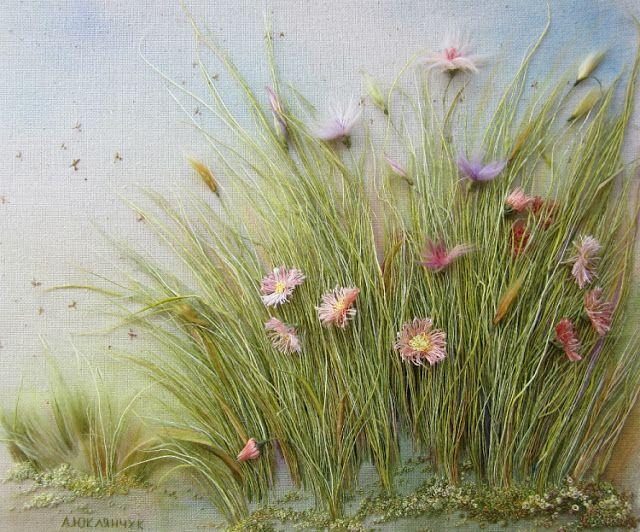 Angela Yuklyanchuk (needlework!)