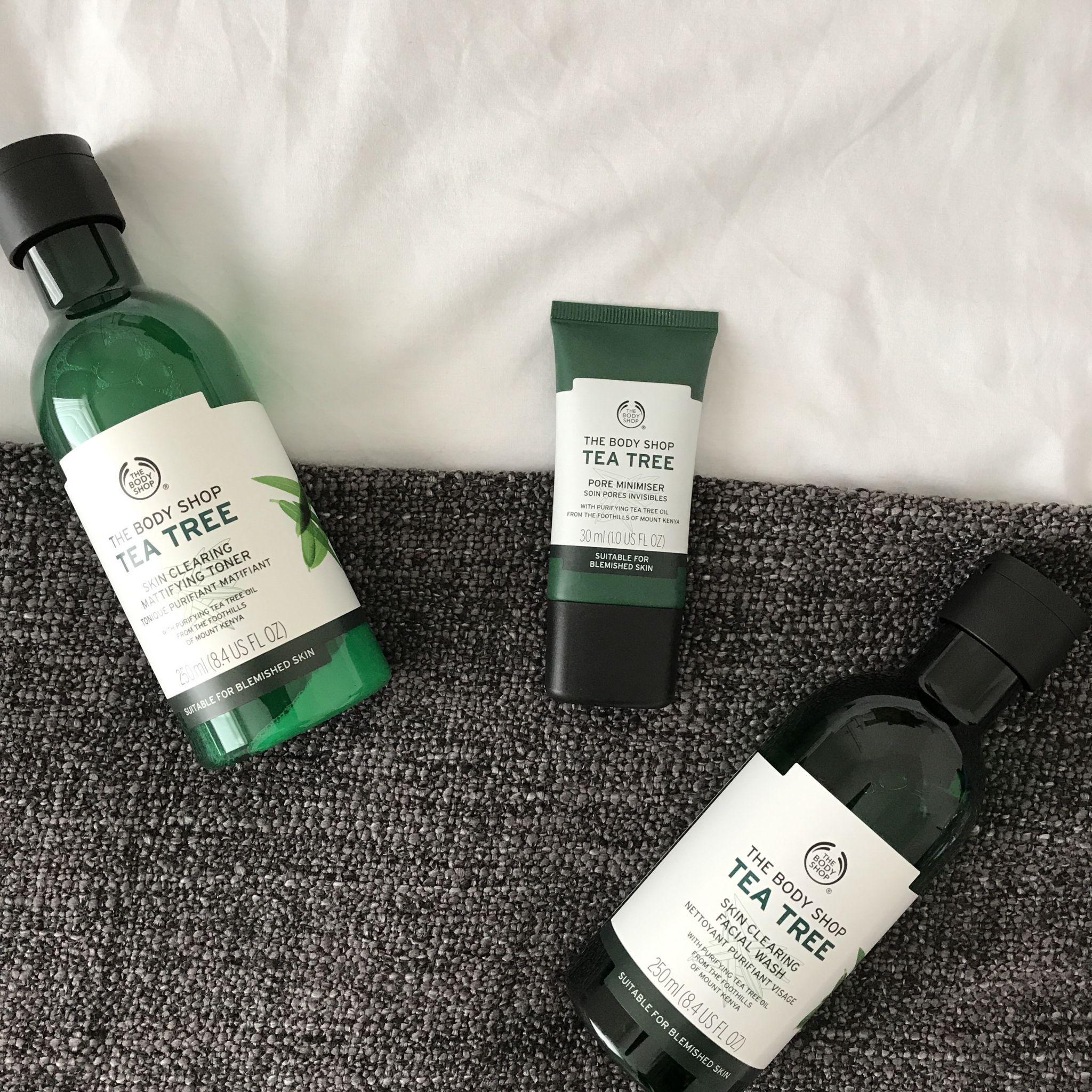 Review The Body Shop Tea Tree Skincare Body shop tea