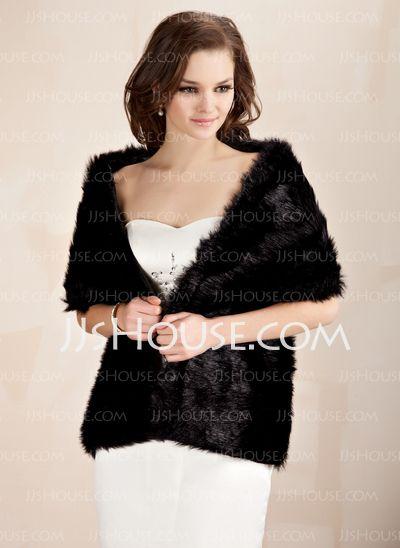 0b01c991b Pin by APTRO Clothing on APTRO Women's Faux Fur Warm Dress Shawl for ...