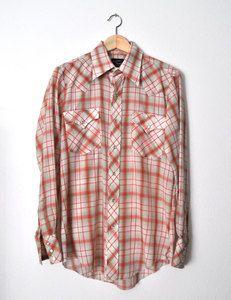 Champion Westerns Shirt fr Canoe - vintage $35