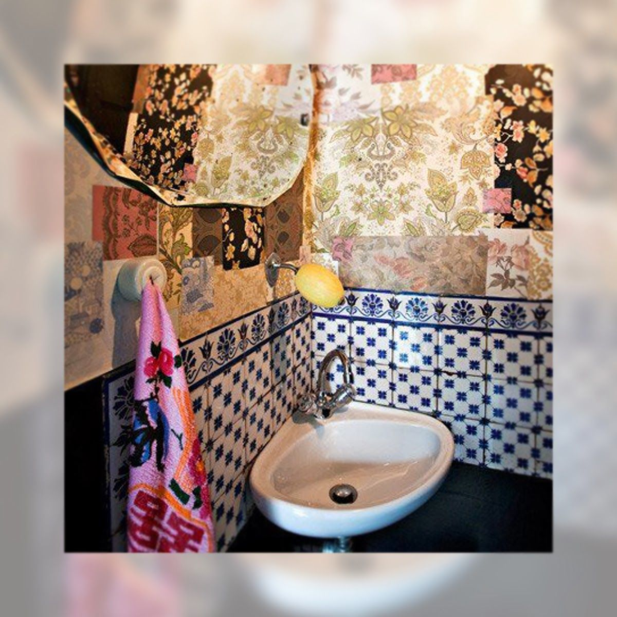 Decoracion una casa de aires boho chic bathroom for Decoracion casa hippie