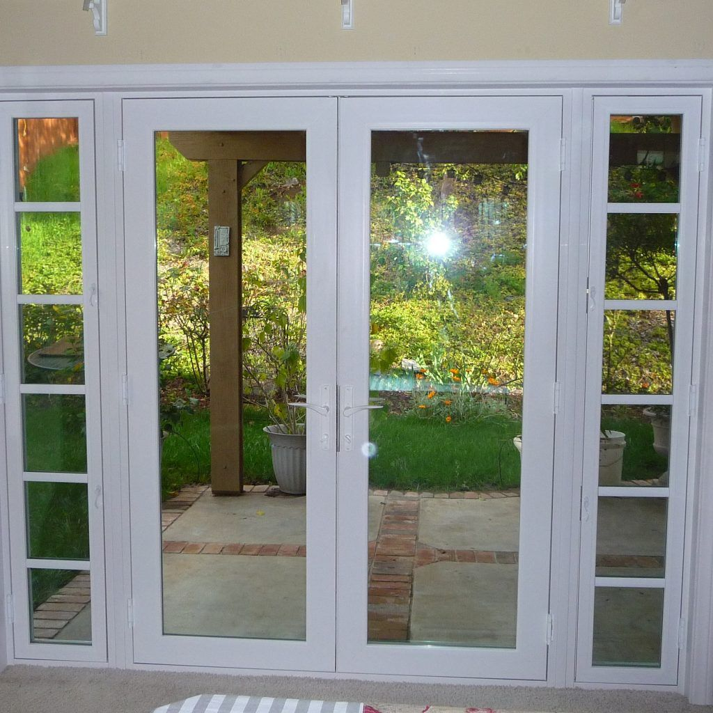 Exterior French Doors With Sidelites French Doors Patio French Doors Exterior Double Patio Doors