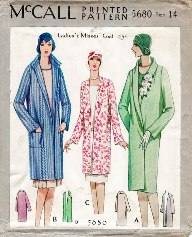 53 Vintage Sewing Patterns From 1920s Through 1980s