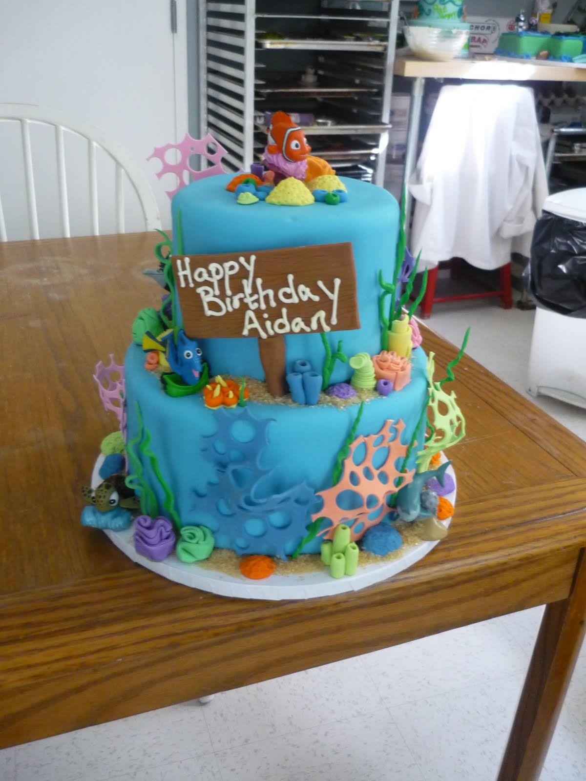 Finding Nemo Theme Cakes Artisan Bake Shop Finding Nemo - Finding nemo birthday cake