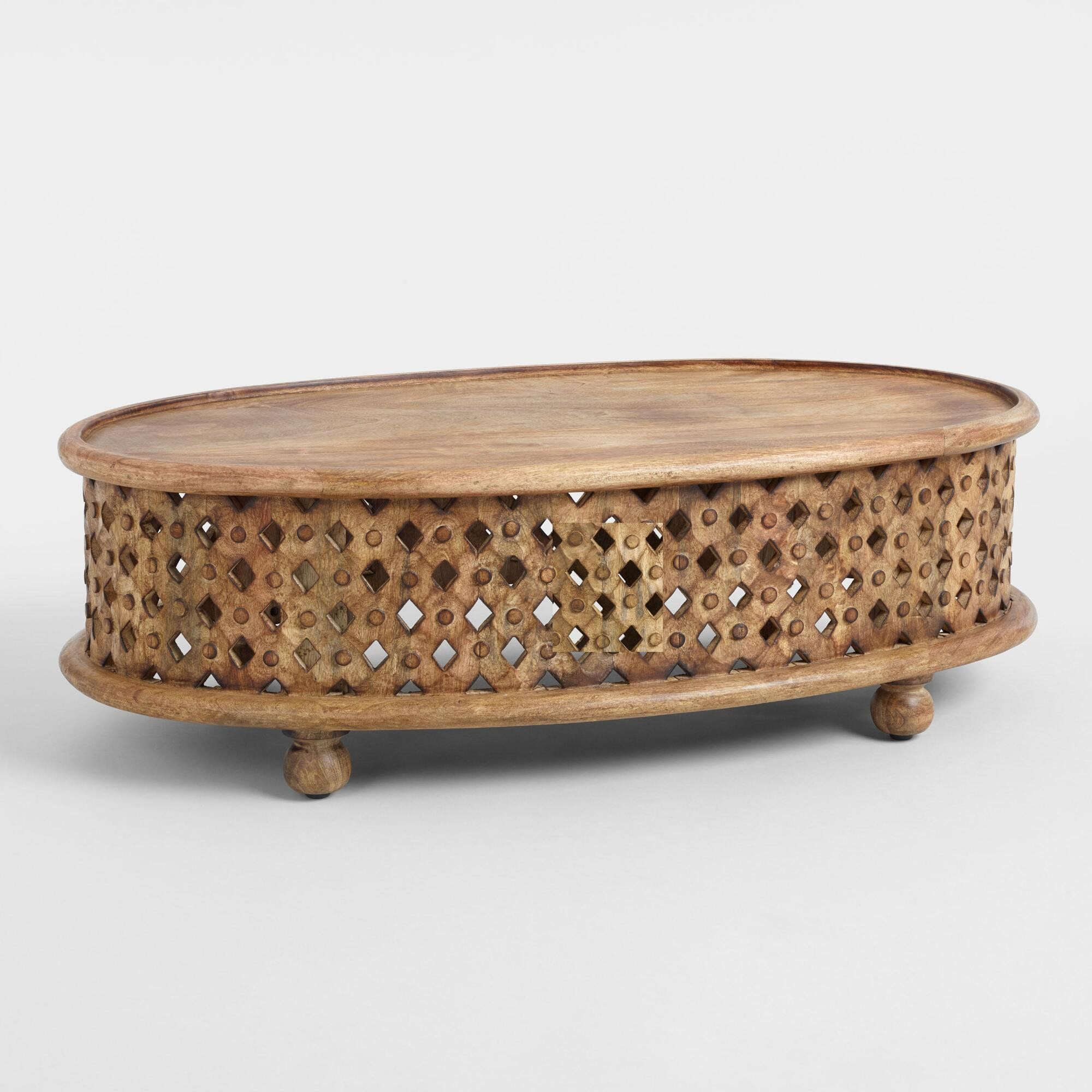 Wooden Indian Carving Coffee Table Home Antique Coffee Table Oval Tribal Carved By Viratrahomedec In 2021 Unique Coffee Table Coffee Table Wood Antique Coffee Tables [ 2000 x 2000 Pixel ]