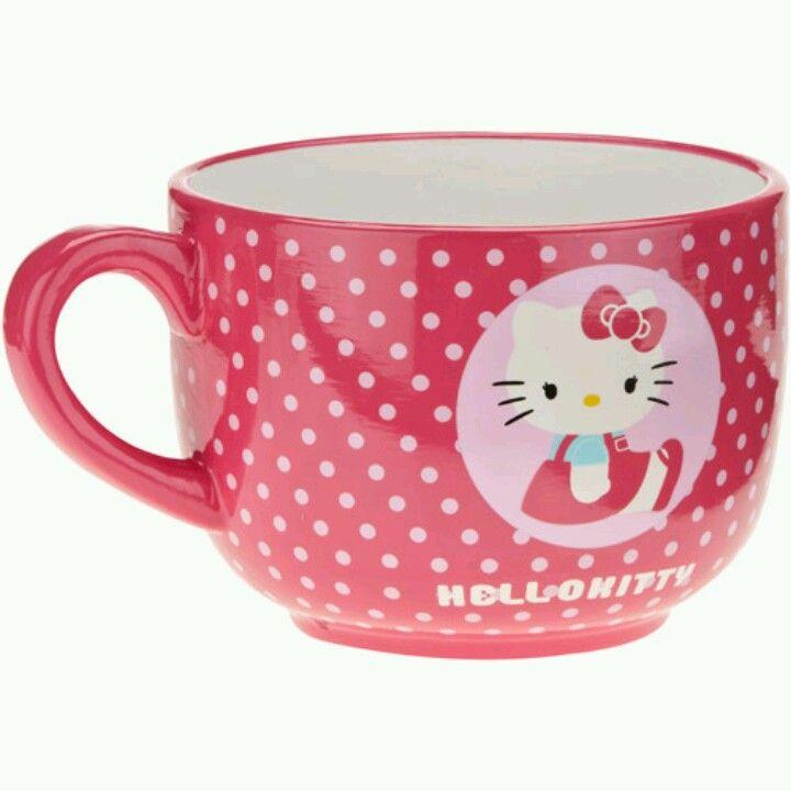 Hello Kitty Large Coffee Cup Hello Kitty Mug Hello Kitty Kitchen Hello Kitty Appliances