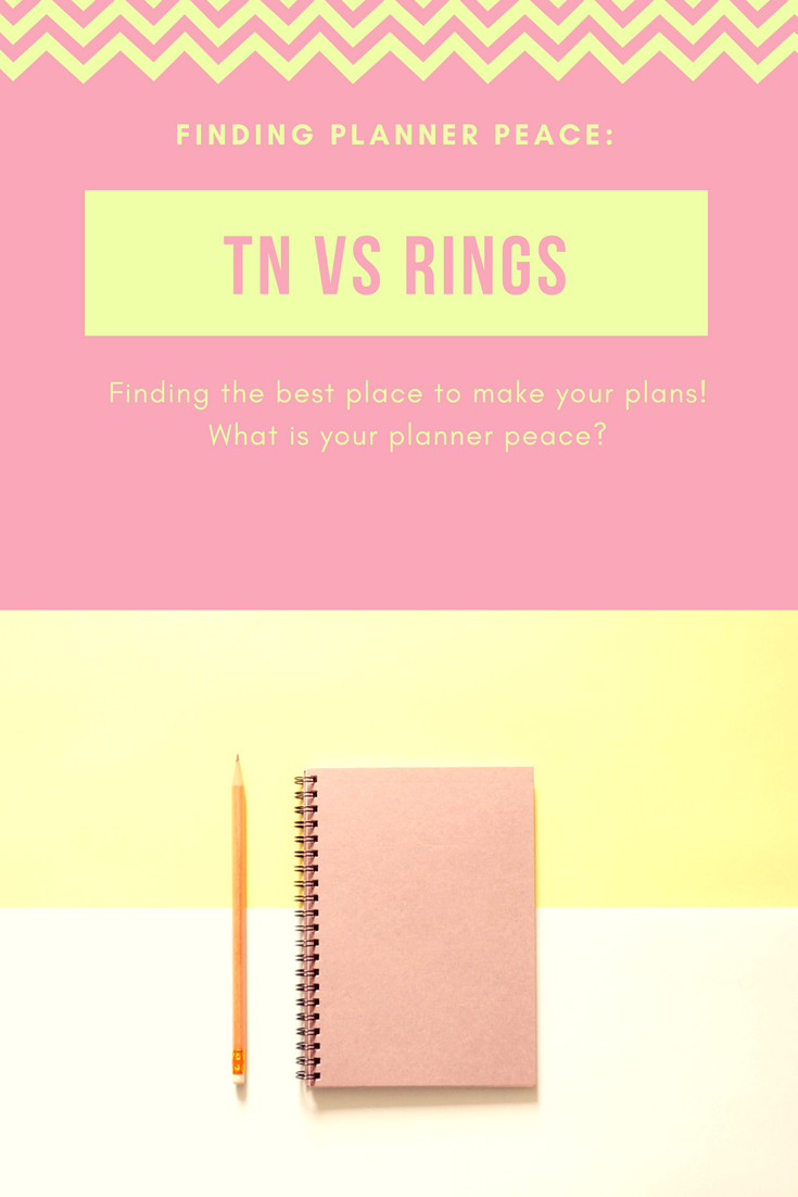 finding planner peace reviewing travellers notebooks vs ring bound