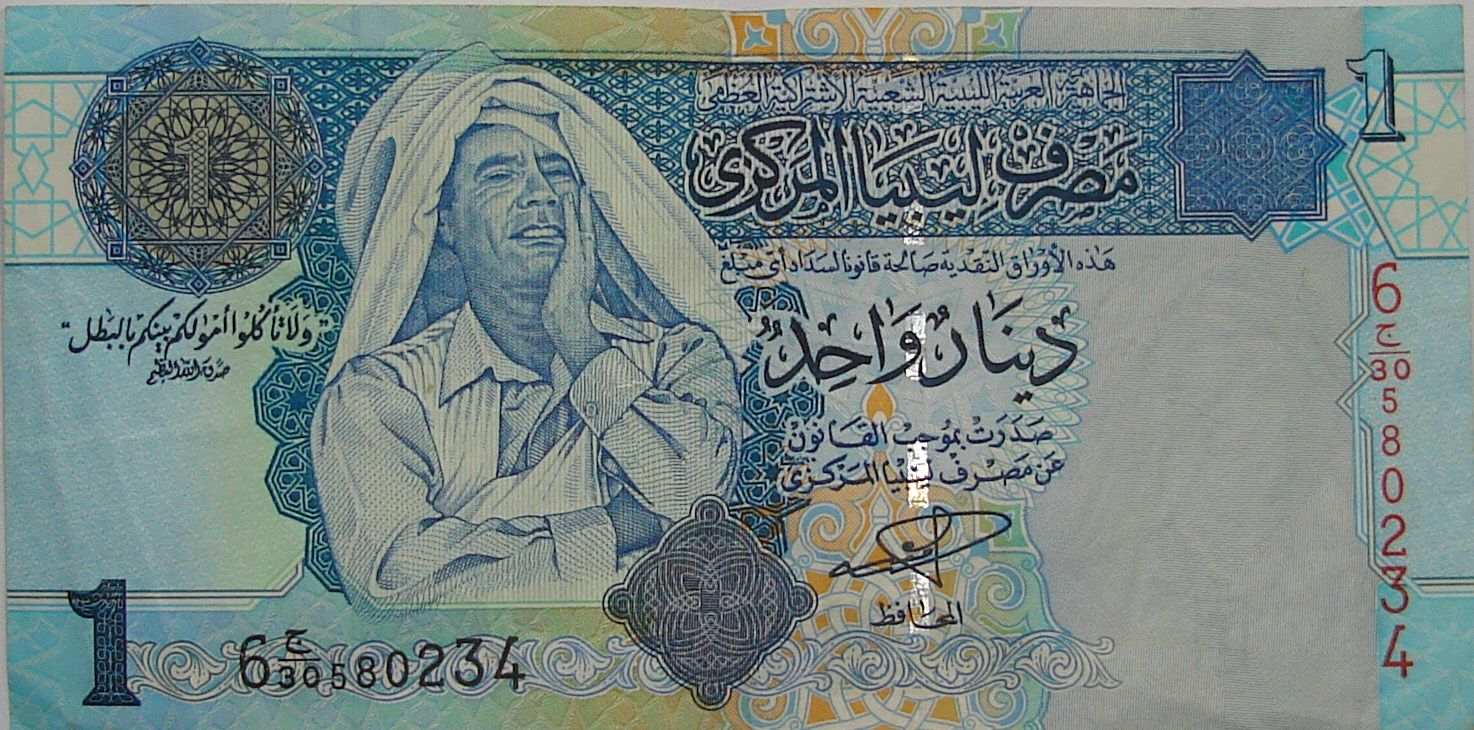 Libyan Dinar Currency Flags Of Countries