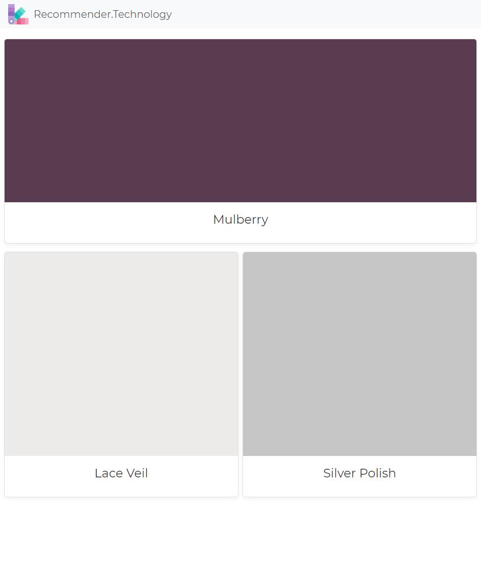 Mulberry Lace Veil Silver Polish Dunn Edwards Paint Painting Paint Colors