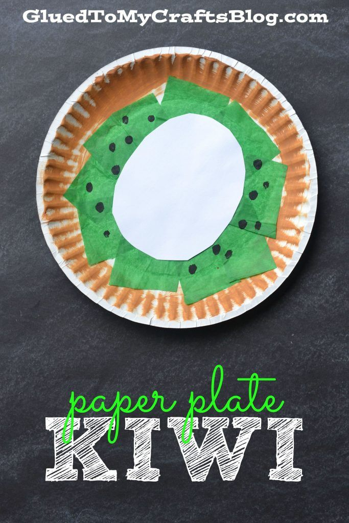 Fruit Amp Veggie Kid Craft Roundup Paper Plate Crafts For