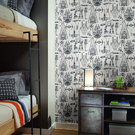 Pin By Bella Astra On Star Wars Decor Home Decor Star Wars Bedroom Peel And Stick Wallpaper