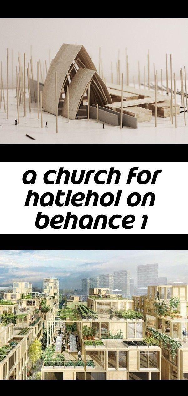 Photo of A church for hatlehol on behance 1 #architecturerepresentation A church for Hatlehol on Behance
