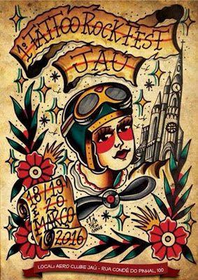 Tattoo & Ink: Tattoo Rock Fest Jau 2016