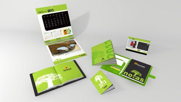 desain kalender meja 2013 | Kalender, Desain