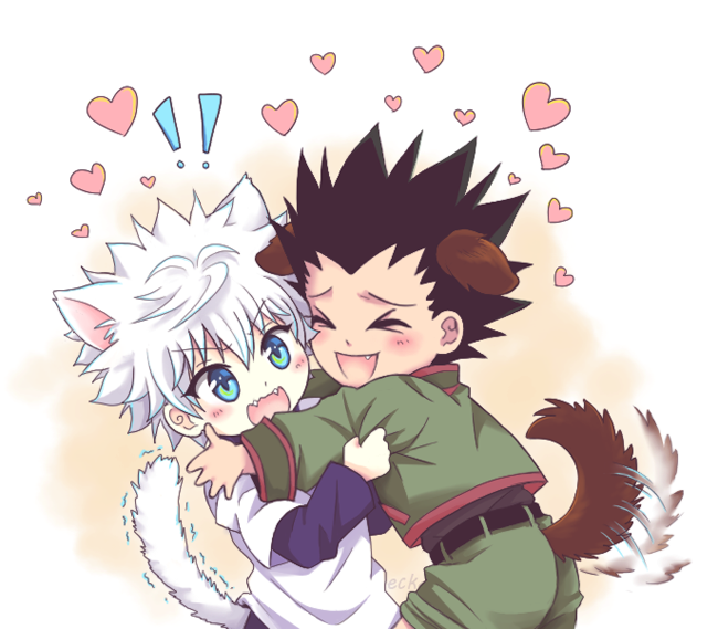 """doodleck: """" (=ↀωↀ=)♥♥♥ I drew some fluff for a certain lovely chan ♥♥♥ """" OMG I LOVE IT SO MUCH THANK YOU !!! ;O;!!!"""