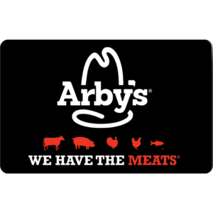 10 Arby S Gift Card Giveaway For The Holidays Arbys Gift Card Balance Best Gift Cards Gift Card Giveaway
