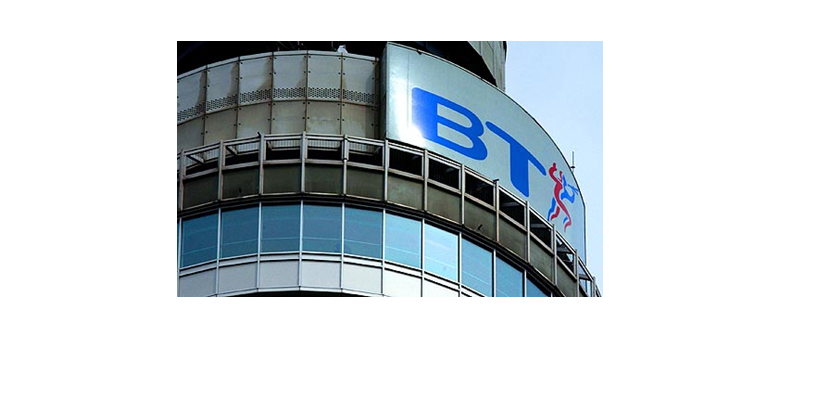 Broadband services offered by BT Company