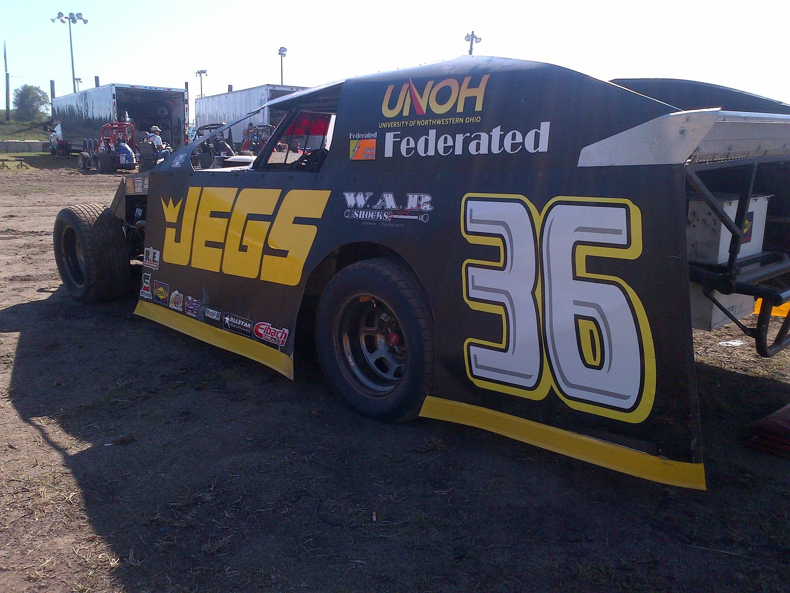Kenny Wallace's Dirt Modified   JEGS Racing   Dirt racing