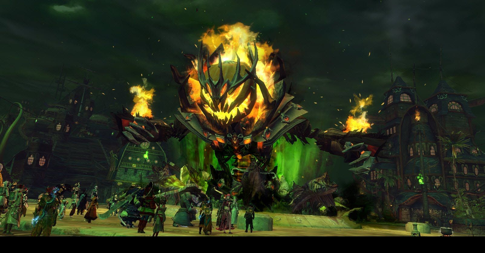 Guild Wars 2: Halloween Event in Mad's King Labyrinth Massive ...