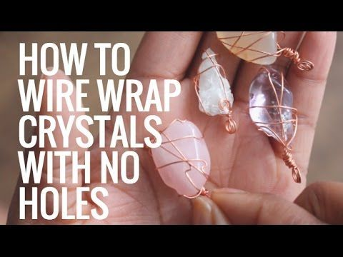 Photo of • How To Wire Wrap Crystals and Stones Without Holes • Pendants • Day 6 of 7