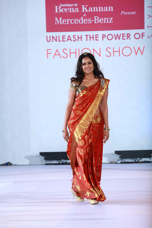 Designer fashion show by Beena Kannan & Seematti