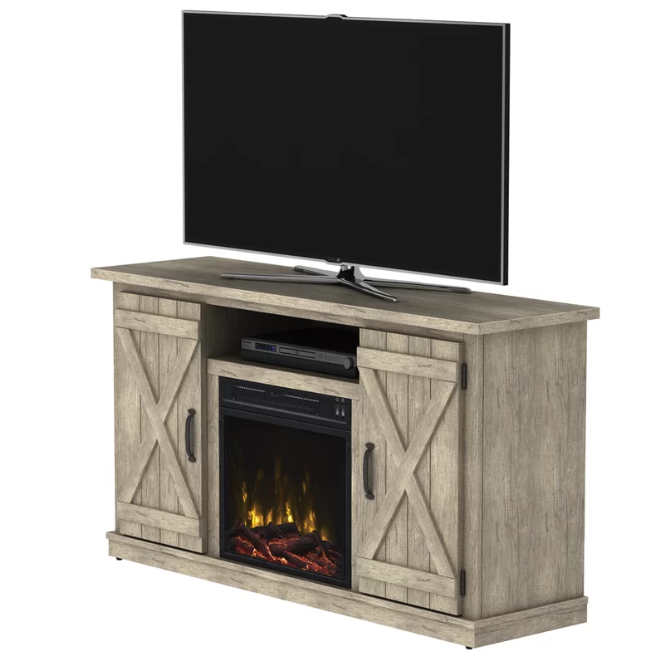 18++ Farmhouse corner tv stand with fireplace information