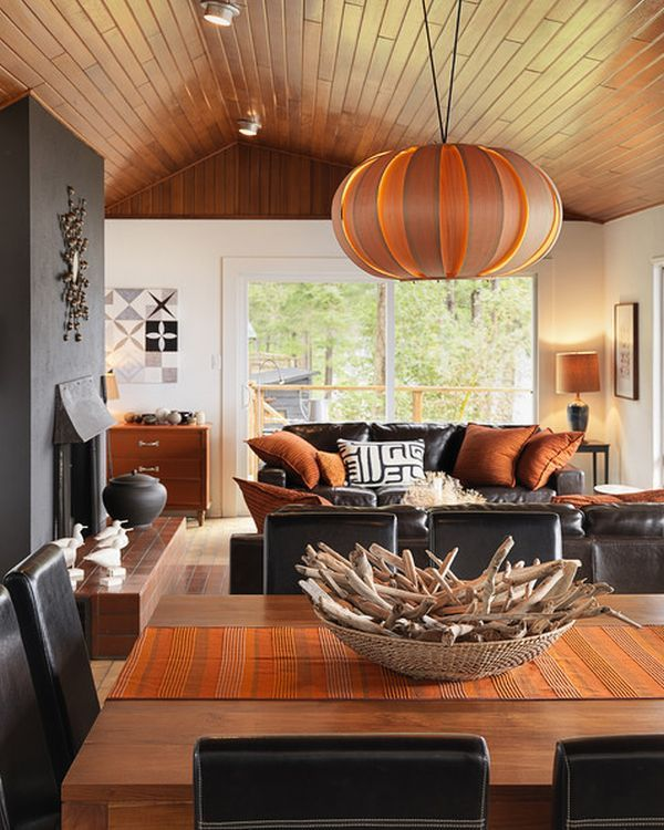 17 Best Images About Orange And Chocolate Living Rooms On