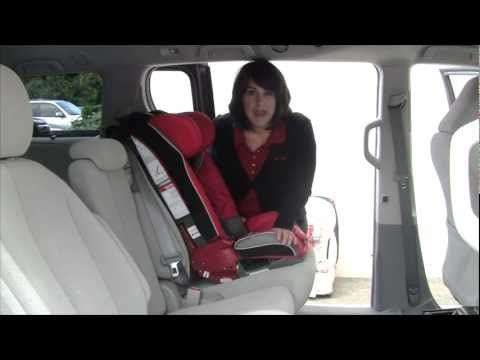 Install Diono RadianR Car Seat Forward Facing With Lap Shoulder Belt Carseat Kids Safety