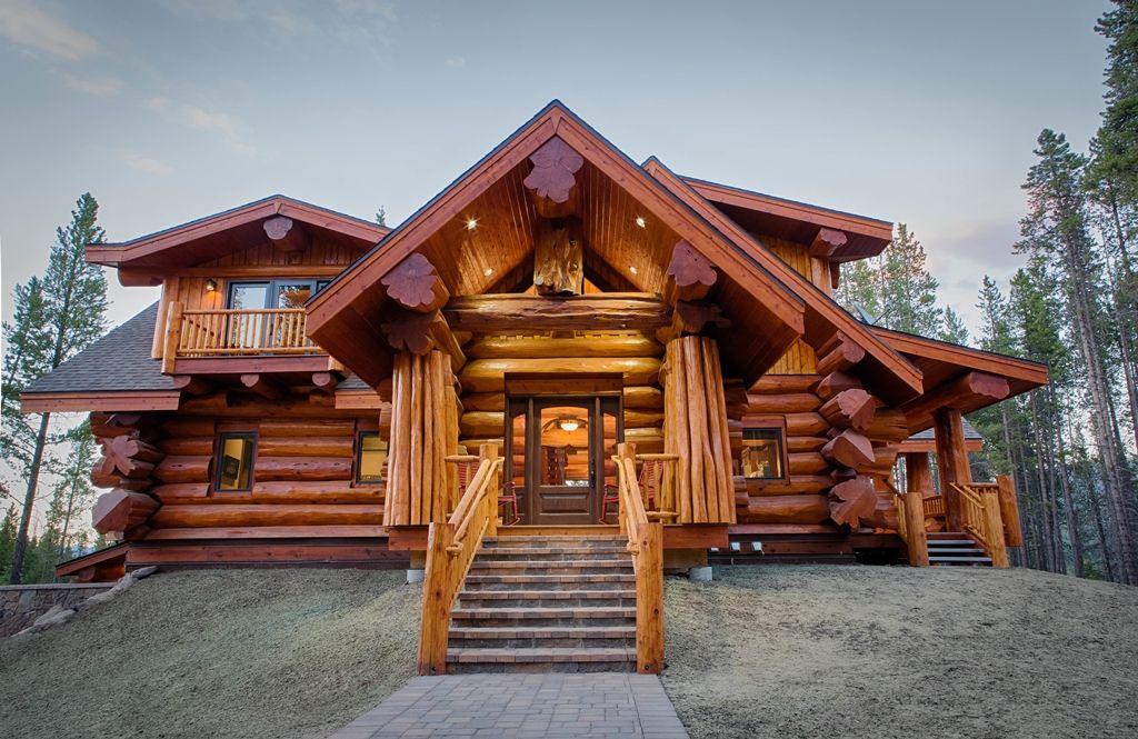 Western Red Cedar The Timber Of Kings Log Homes Log Home