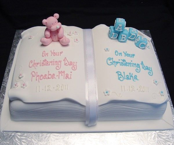 Birthday Cake Ideas For Boy Girl Twins : Celebration Cakes Tamworth Wedding Birthday Christening ...