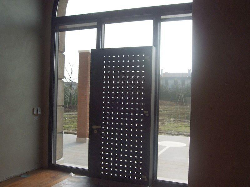 Serramenti finestre ferro acciaio inox corten ottone - Finestre a bovindo ...