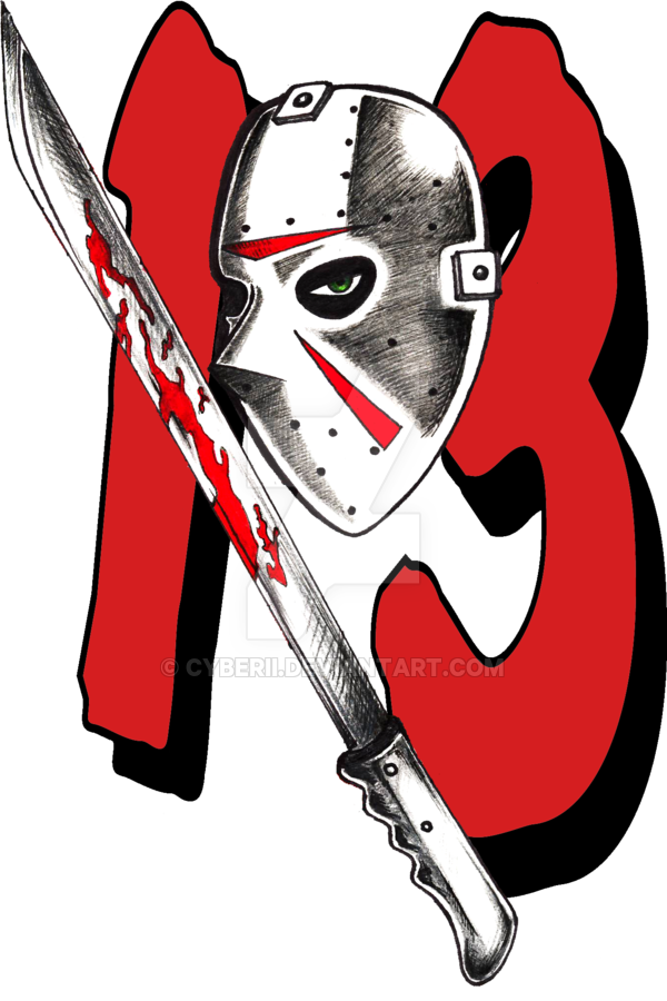 Friday the 13th tattoo design by CyberII (With images
