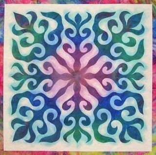 Hawaiian Quilts In A Hurry | Paint sticks, Paper snowflakes and ... : freezer paper quilting - Adamdwight.com